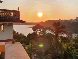 Sea view 3 bhk villa for sale at Donapaula