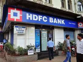 Hdfc bank document collection work or verification process.