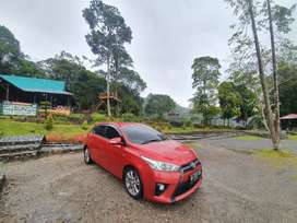 Toyota Yaris G 2016 manual