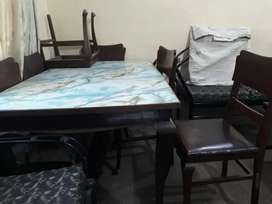 6 Seater Dining Table - Pure Sheesham