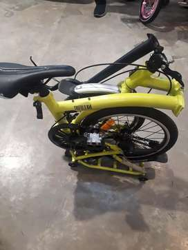 Sepeda Lipat United Trifold 1s bisa upgrade