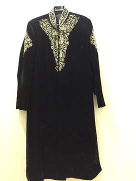 Only 1 time used Sherwani in black, Brand new condition