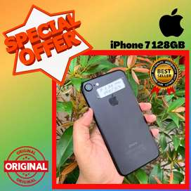 BISA TUKAR - TAMBAH !! SECOND IPHONE 7 128 GB - EKS INTER