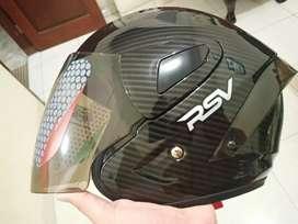 RSV Halfface Black Carbon XL