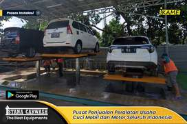 Hidrolik Paket Peralatan Usaha Cuci Mobil Tipe H Gratis Pasang