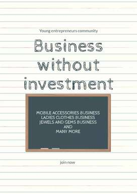 Business for all without investment