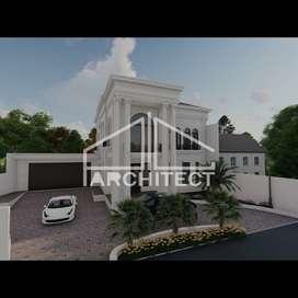 Jasa Desain Arsitektur Interior dan Eksterior & RAB