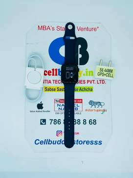 Series 6 ( 44MM ) Gps + Cellular | Gst Bill With Adapter Cable | COD |
