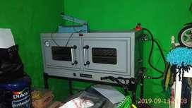Oven gas dua tingkat