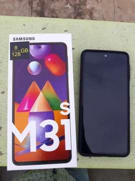 Samsung m31s 8gb 128gb
