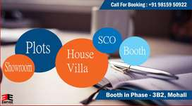 Booth Available For Sale in Phase-3B2, Mohali (Basement+Floor)