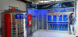 Melayani pemasangan Depot baru Ro,Bio Energy ,Alkali dan Mineral