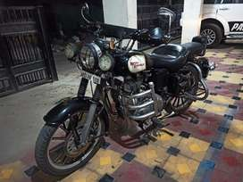 Royal Enfield, 500cc, with carburettor standard kit changed