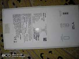 Vivo y12 only 6month used