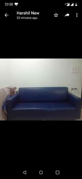 Sofa set 6 ft 2 pc
