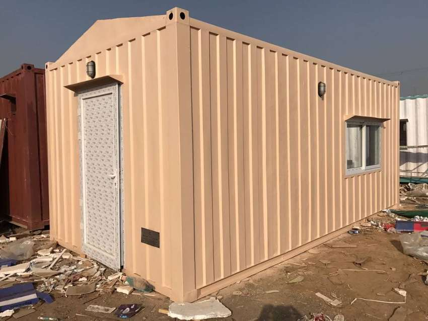 prefabricated and easy to move houses and container porta cabin steel 0