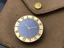 ORIGINAL Bvlgari Travel Desk Watch With Alarm
