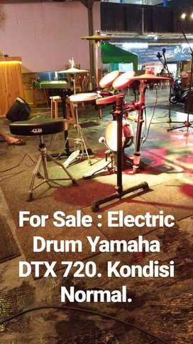 Drum Elektrik Yamaha DTX 720