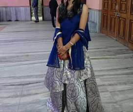 This is my lehenga. I bought it from Kolkata