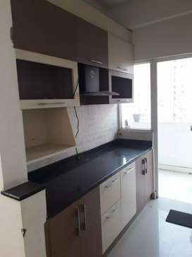 2bhk semifurnished flat available for rent in Ace city
