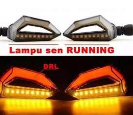 Lampu LED Sein Running 2 Warna