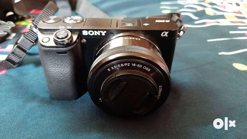 Sony aplha 6000 mirrorless camera 0
