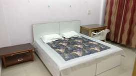 2bhk builder floor fully furnished flat only girl