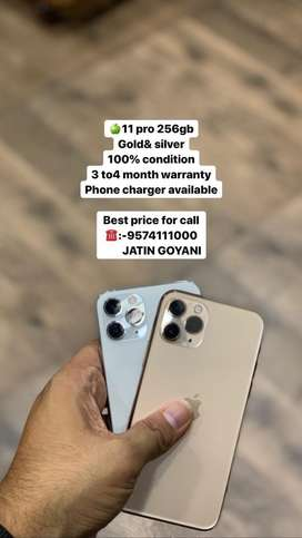 Iphone 11 pro 256gb under warranty available