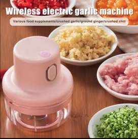 Wireless and mini USB electric chopper
