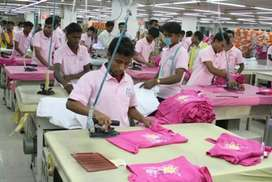 Garments manufacturer companies want Supervisor