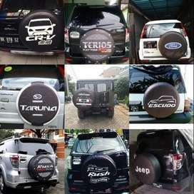 COVER/sarung/kondom Ban Serep Mobil Terios Escudo Panther Taruna#Cardi