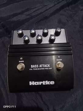 Efek bass attack HARTKE