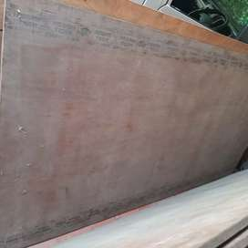 Waterproof plywood, plywood and gypsum board