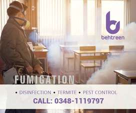 Fumigation, Disinfection and Termite Control