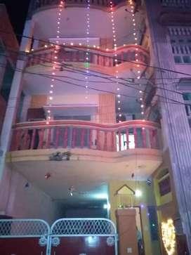 Fully furnished three storey house near bhu hyderabad gate varanasi