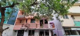 Ground-floor 2bhk house with office/godown available. Open car parking