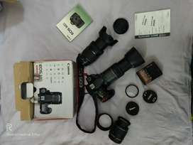 60d canan camera with lens 18-135 either