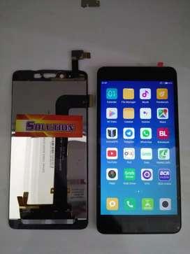 Lcd Touchscreen Xiaomi Redmi Note 2 + Pasang