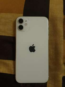 Iphone 11 white 64GB 6 month old