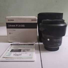 Lensa Sigma Art 24 F/1.4 For Nikon