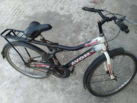 Avon Josh cycle 26 inch tyres with lock