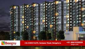 2 & 3 BHK apartments FOR SALE - Kasavanahalli, Sarjapur Road,Bangalore