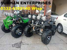 Luxury Allowy Wheels 250cc Atv Quad Bike With New Features