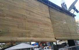 tirai bambu murah pengiriman dari gresik