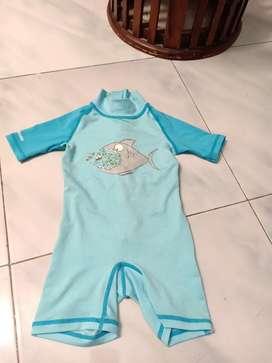 Preloved baju renang anak 6-18 bln