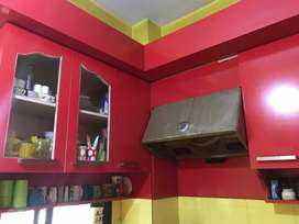 2bhk flat for rent in Kalapahar main road, semi furnished flat