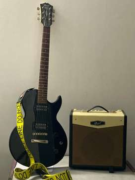 Cort CR50 ELECTRIC GUITAR WITH CORT CM15R AMPLIFIER