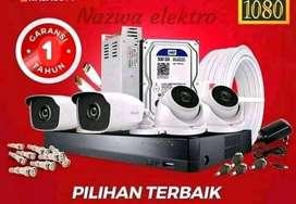 PAKET CCTV SIANG MALAM BERWARNA 24 JAM PANTAU HP
