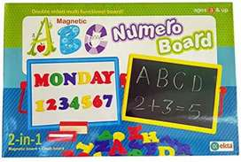 Ekta ABC Number Board Magnetic/ Preschool Education Learning Kit