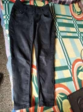 Women jeans black colour